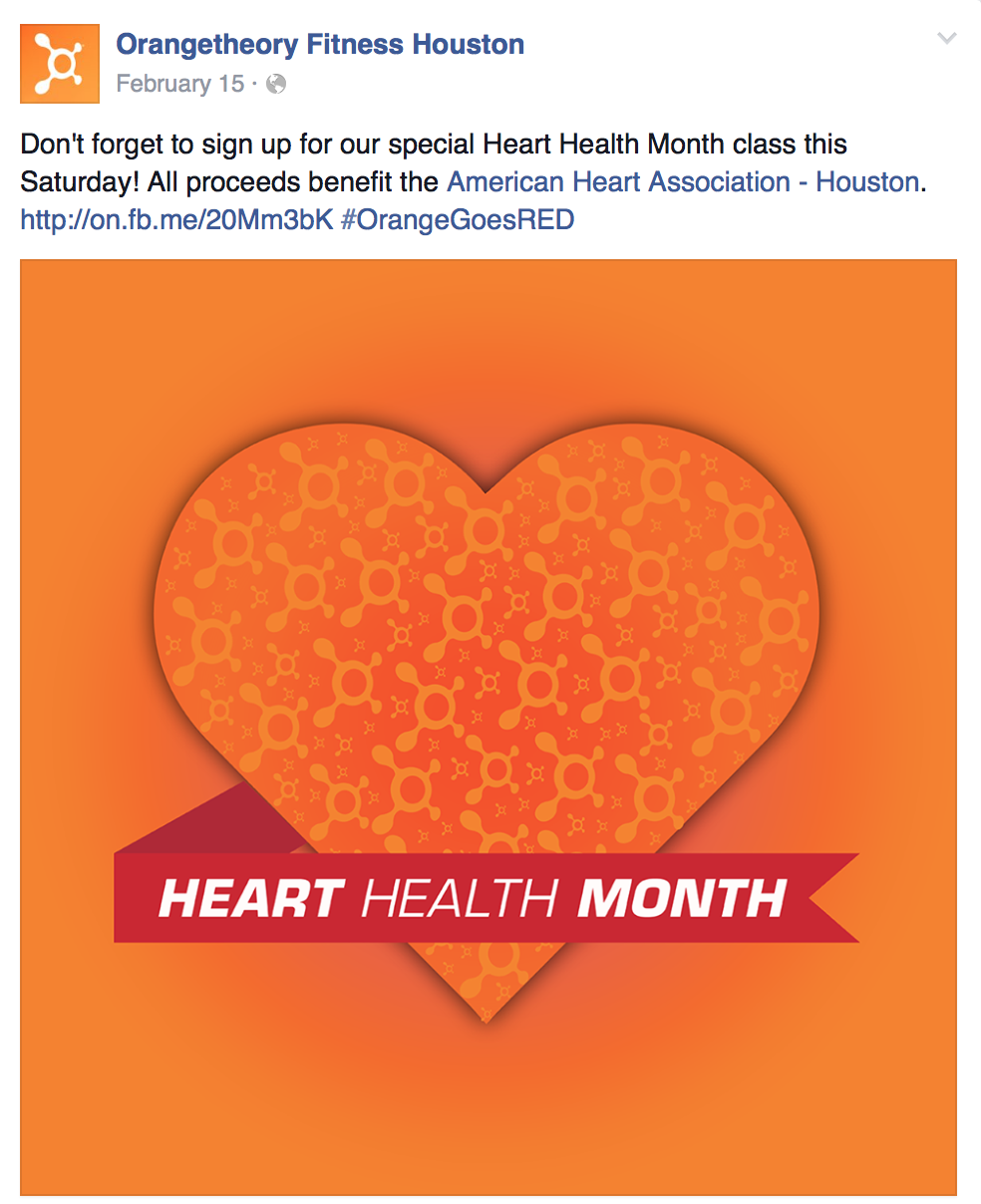 Orangetheory Fitness Goes Red!