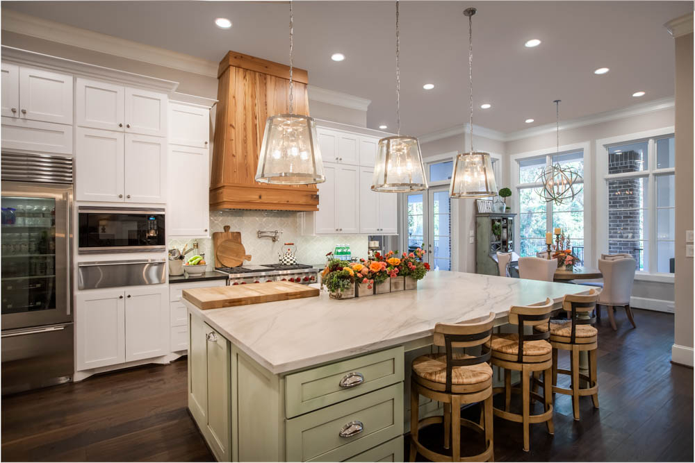 A Frankel Building Group Custom Home Kitchen
