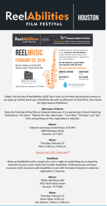 ReelAbilities email template before Integrate optimized